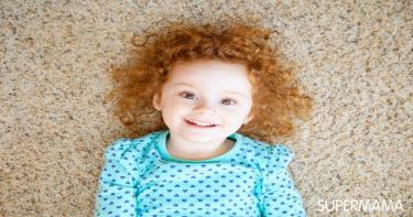 كيفية العناية بالشعر المجعد عند الأطفال