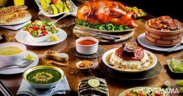 السفرة في رمضان - مائدة الطعام في رمضان