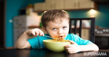 حماية الطفل في غرفة الطعام وغرفة المعيشة