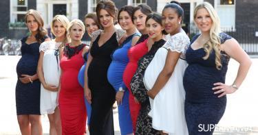 مشاهير الحوامل