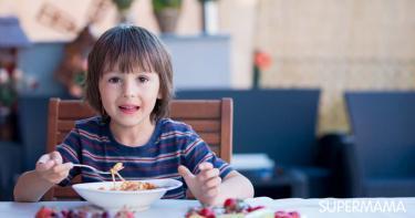أطعمة لزيادة وزن الطفل