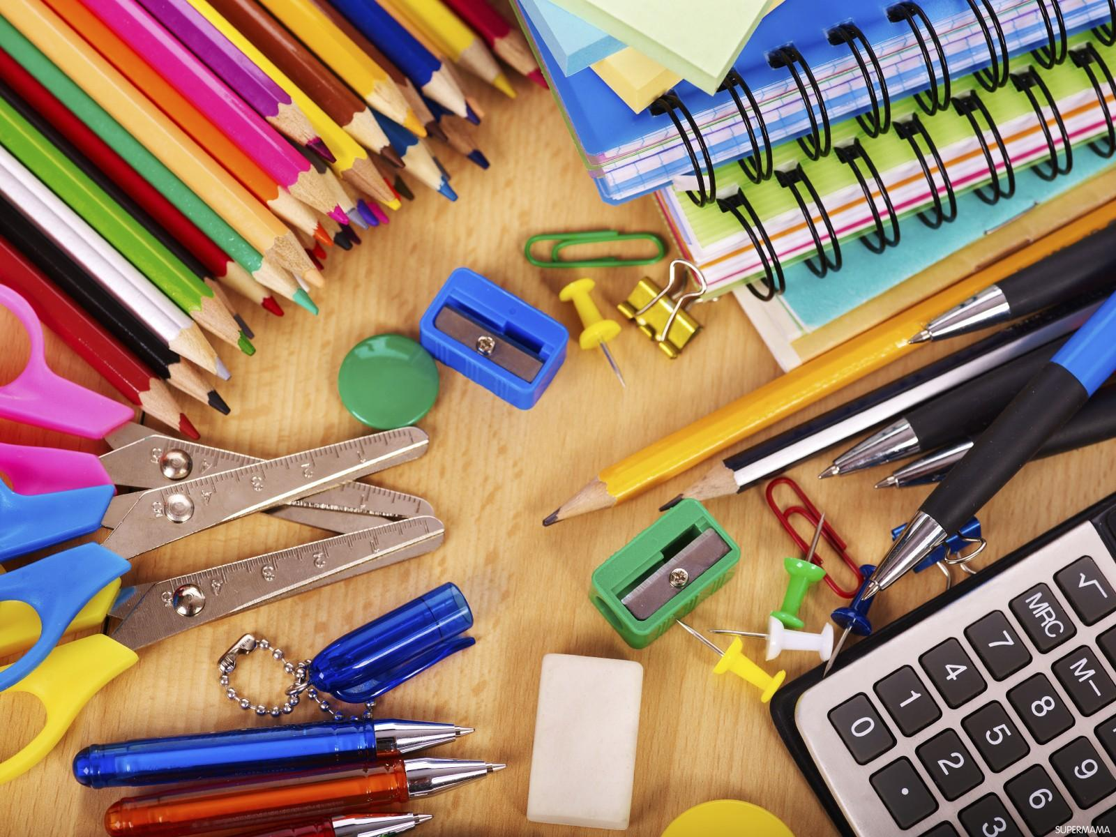 7e5315bb63f71 تعرفي على الأدوات المدرسية التي يحتاجها طفلك