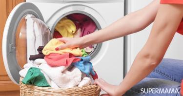 تنظيف الملابس