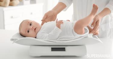 متوسط وزن الطفل