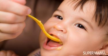 تغذية الطفل والمقدار المناسب