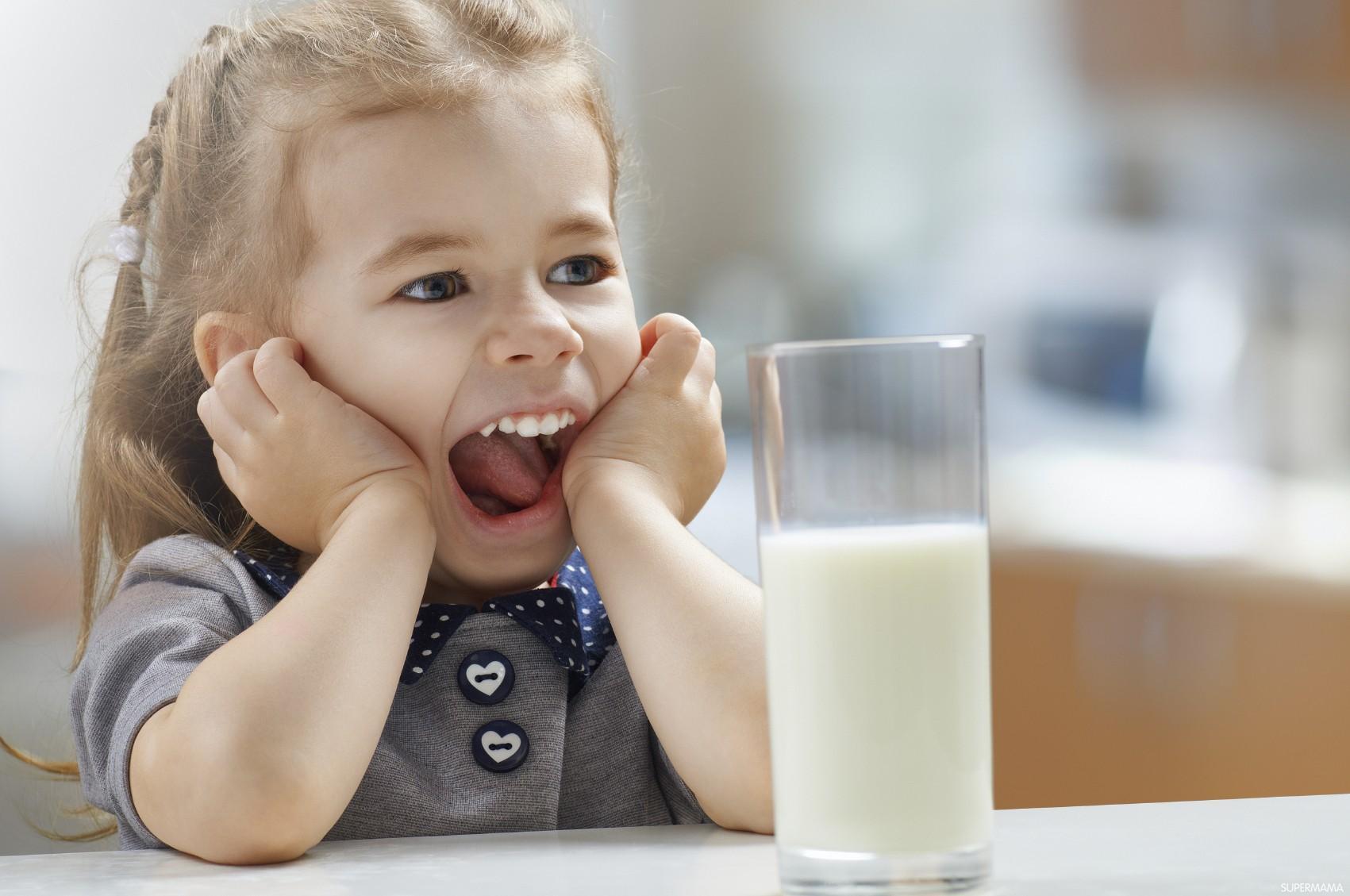 طفلي لا يحب شرب الحليب..ما البديل؟