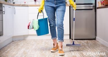 تنظيف المنزل بعد العزومات
