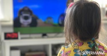 مشاهدة الأطفال للتليفزيون