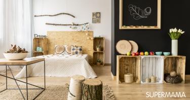 ديكورات خشب للمنزل