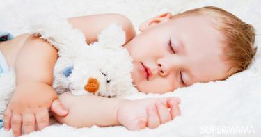 انتظام نوم الطفل