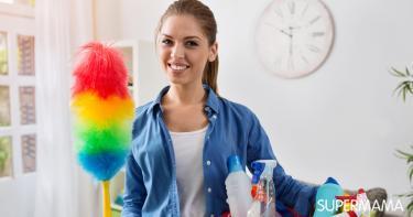طرق تنظيف البيت قبل العيد