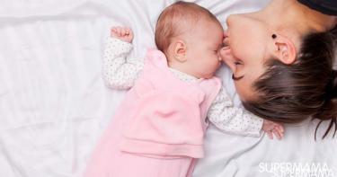 نوم حديثي الولادة