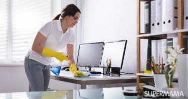 تنظيف الأجهزة الإلكترونية
