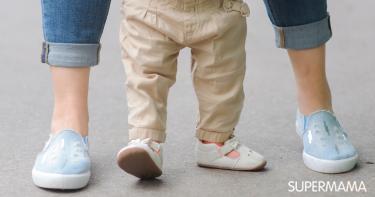 تعليم الطفل المشي