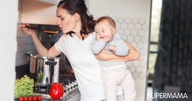أخطاء عند حمل الطفل