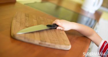 مخاطر المطبخ على الأطفال