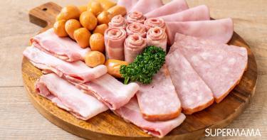 منتجات اللحوم المصنعة