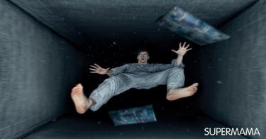 السقوط الوهمي في أثناء النوم
