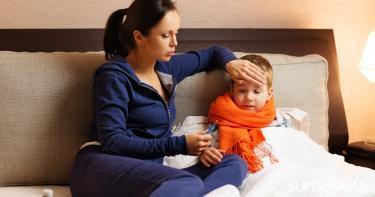 التعامل مع ارتفاع درجة حرارة الطفل