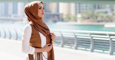 اختيار لون الحجاب المناسب