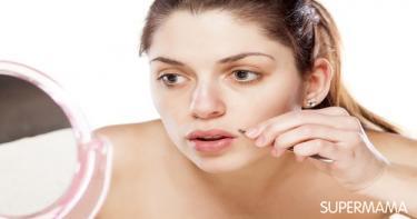 وصفات لإزالة شعر الوجه