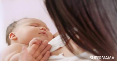 لون بشرة الرضيع