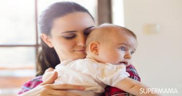 الحديث مع الطفل الرضيع