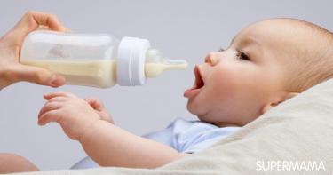 متى أعطي طفلي الحليب العادي؟