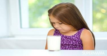 طفلي يرفض تناول جميع منتجات الألبان ماذا أفعل