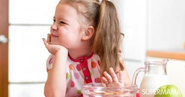 امتناع الطفل عن الطعام