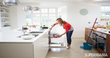 Image result for طريقة تنظيف المطبخ بالصور