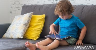 علاقة الطفل بالتكنولوجيا الحديثة