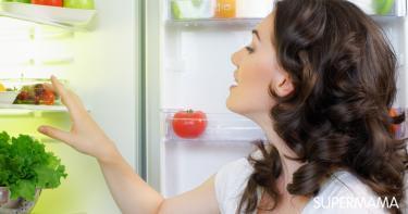 التخلص من بقايا الطعام في الثلاجة