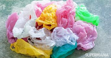 إعادة تدوير الأكياس البلاستيك