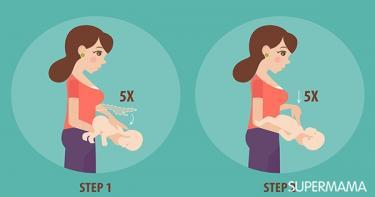 ماذا أفعل عندما يشرق الطفل الرضيع