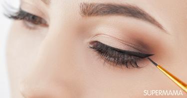 طريقة تثبيت الكحل في العين
