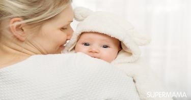 تجشؤ الطفل الرضيع
