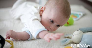 نمو الدماغ عند الرضع