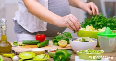 أكلات نباتية للحامل