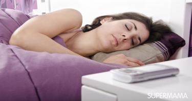 الأجهزة الإلكترونية وقت النوم