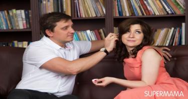 كيف أجعل زوجي العنيد يصالحني