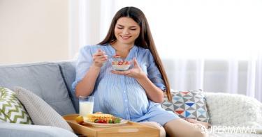 غذاء الحامل في الشهر الرابع