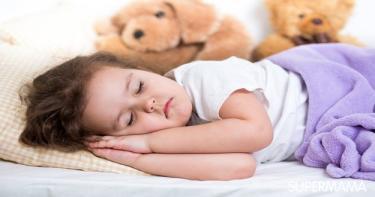 عدد ساعات النوم للأطفال في عمر العامين