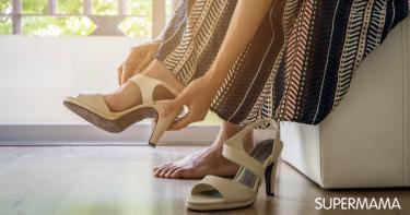 خلع الحذاء قبل دخول المنزل