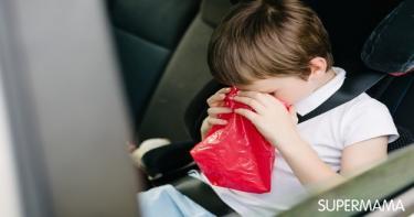 علاج سريع للقيء للأطفال
