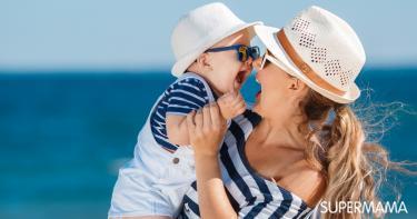 وقاية بشرة الطفل في الصيف
