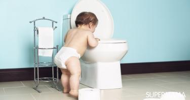 متى يبدأ التدريب على الحمام للأطفال