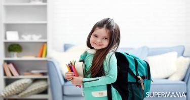 حقيبة المدرسة للأطفال