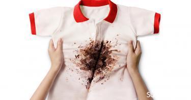 إزالة البقع من ملابس المدرسة