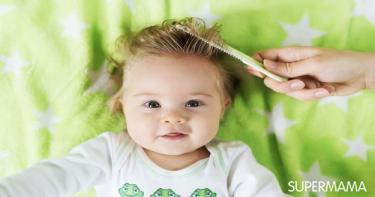 افضل زيت شعر للاطفال الرضع